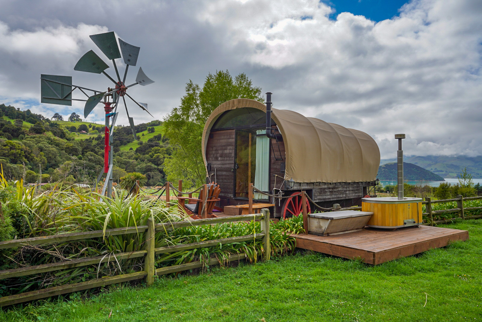 French Peak Wines Glamping Cabin