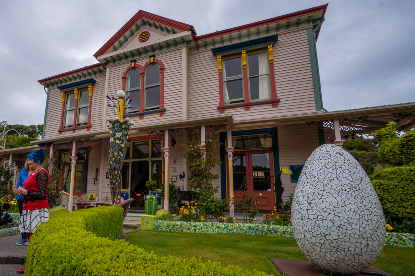 Giant's House Akaroa