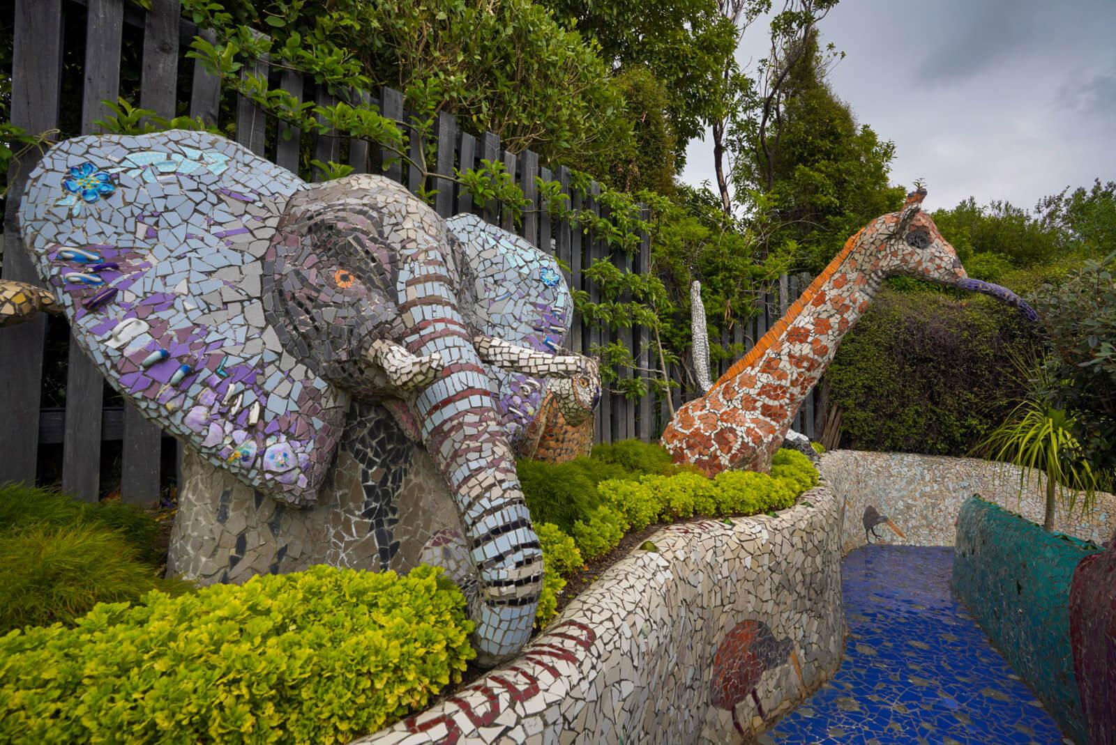 Giant's House Garden Mosaics