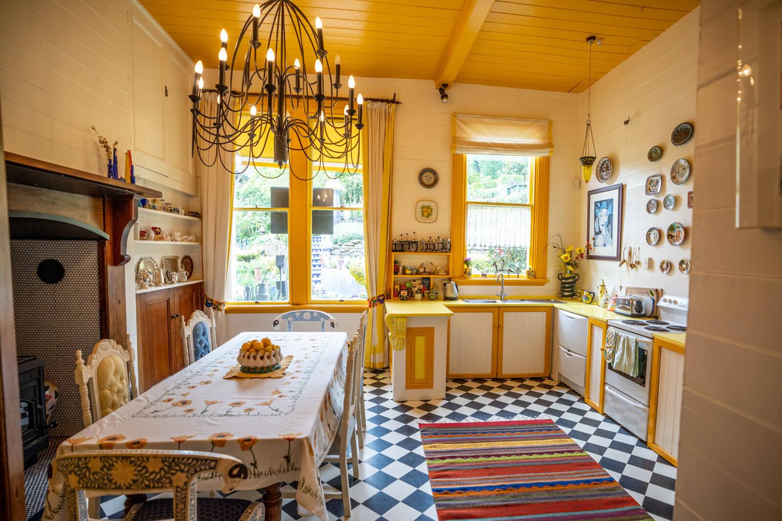 Giant's house akaroa kitchen
