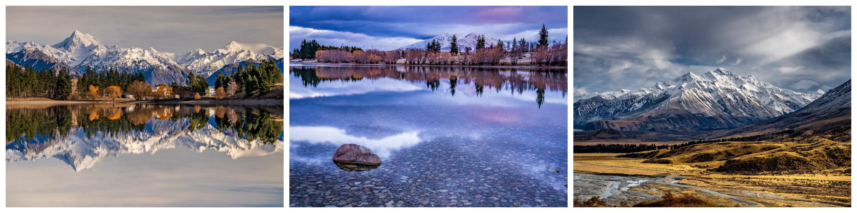 canterbury lakes landscape photography workshop