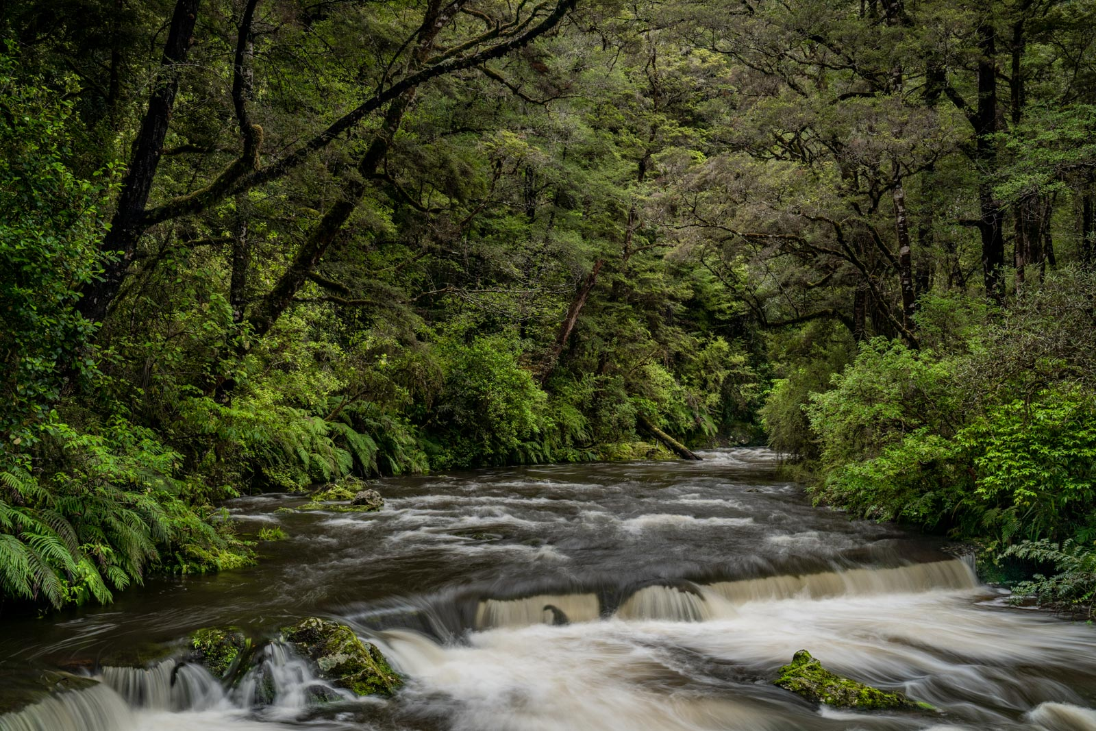 Six Mile Creek Waterfall Murchison