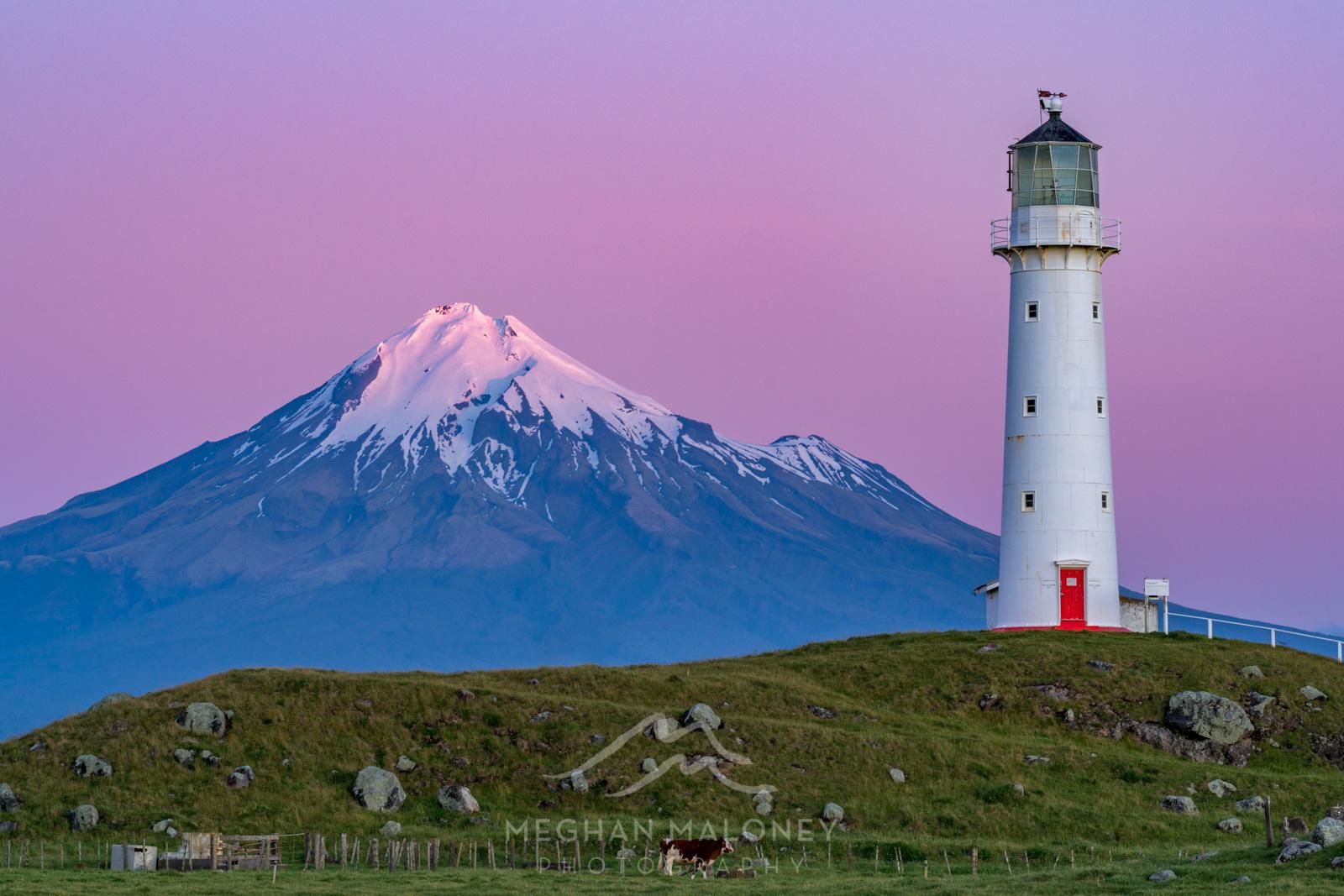Cape Egmont Lighthouse Taranaki Sunset