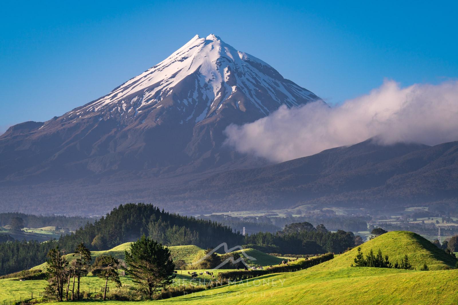 Mount Taranaki Foothills View