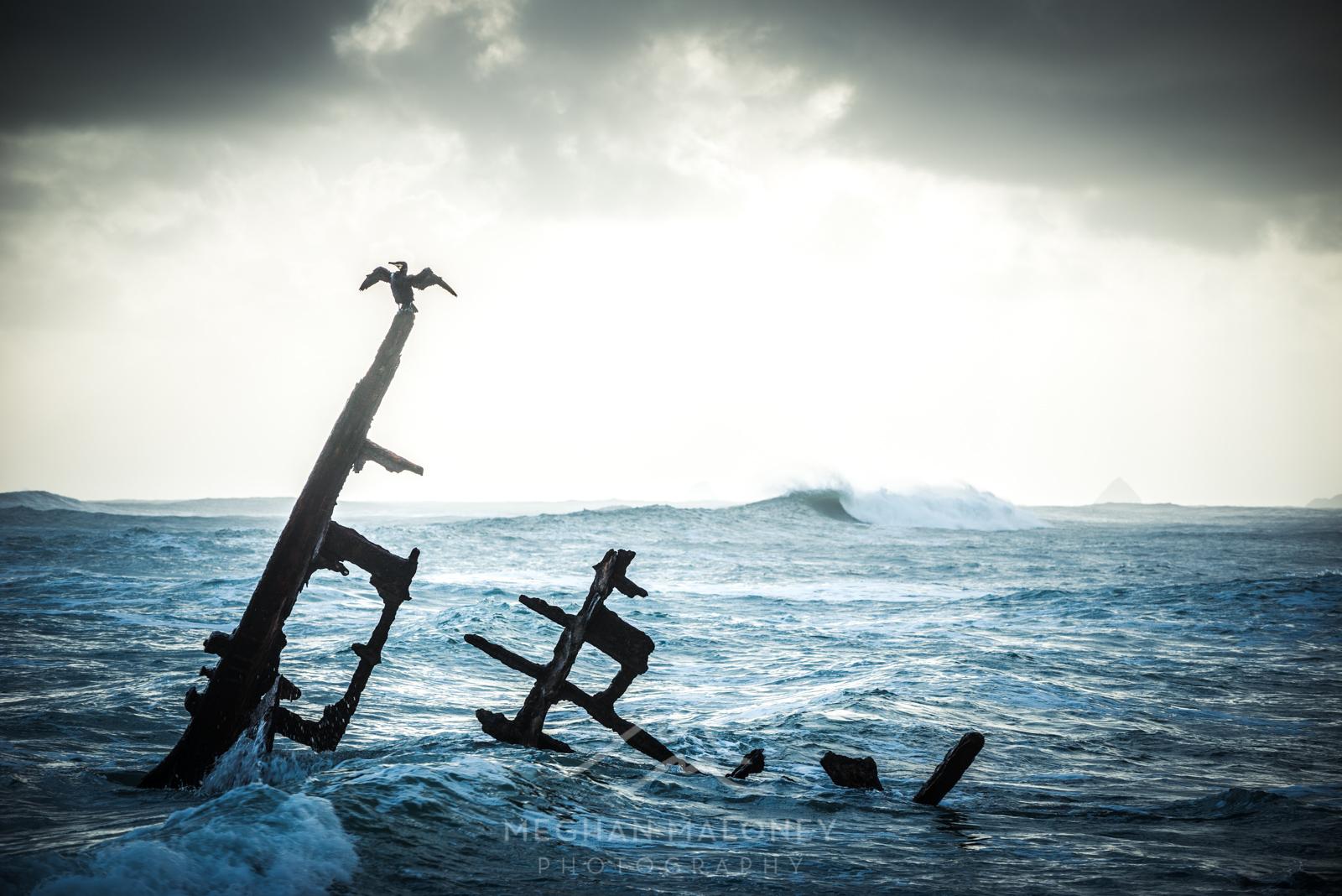 Gairloch Shipwreck Mood Taranaki