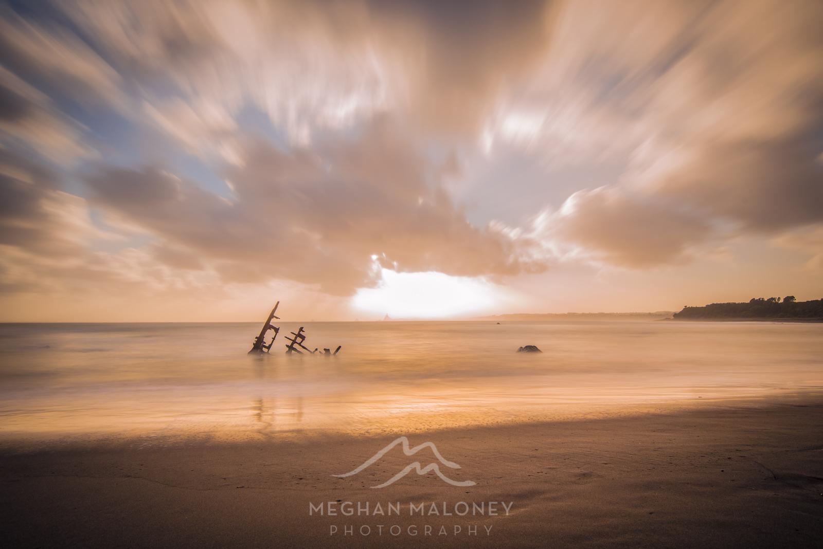 Gairloch Shipwreck Long Exposure