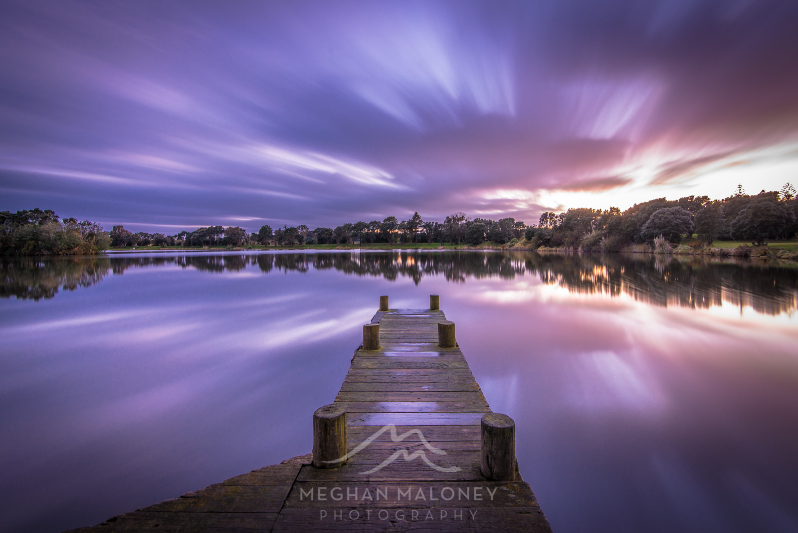 Lake Rotomanu Dawn New Plymouth