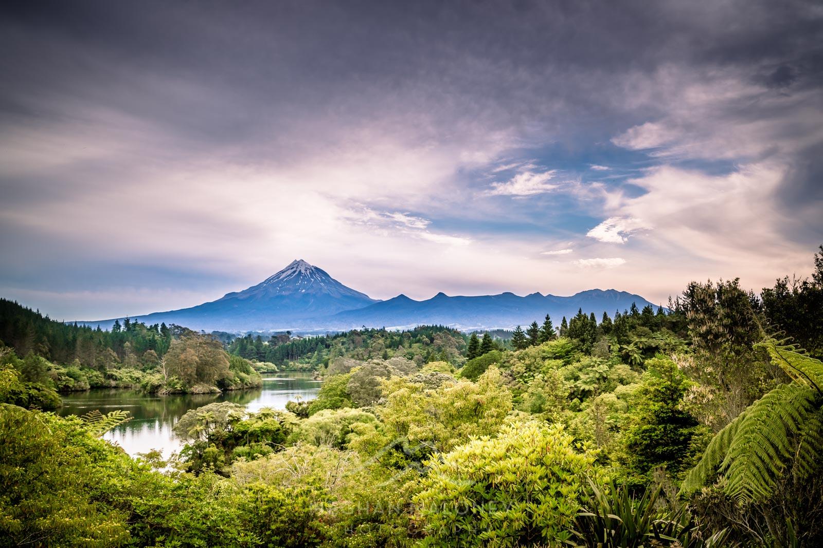 Mt Taranaki View Lake Mangamahoe