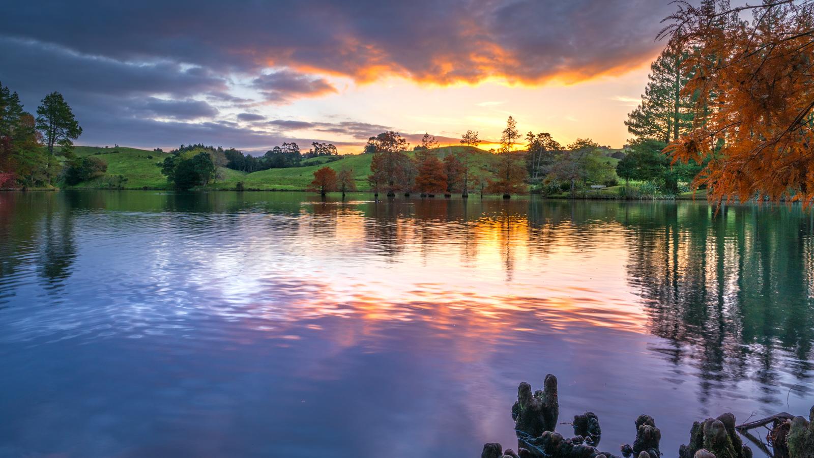 McLaren Falls Autumn Sunset Photography Workshop