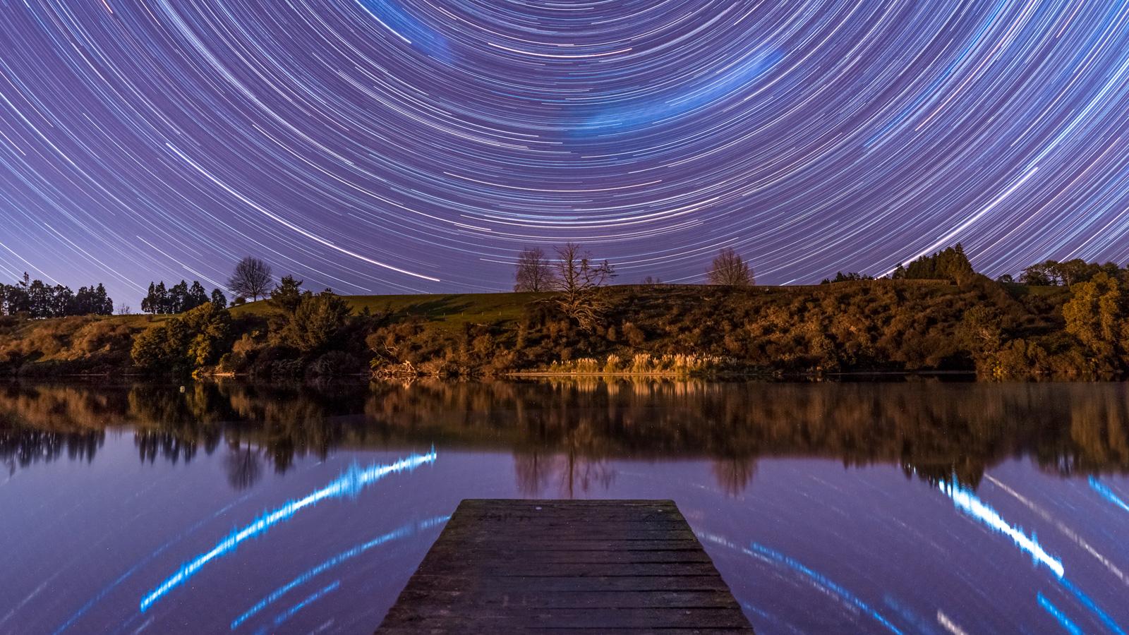 Star Trails Lake Karapiro Photography Workshop