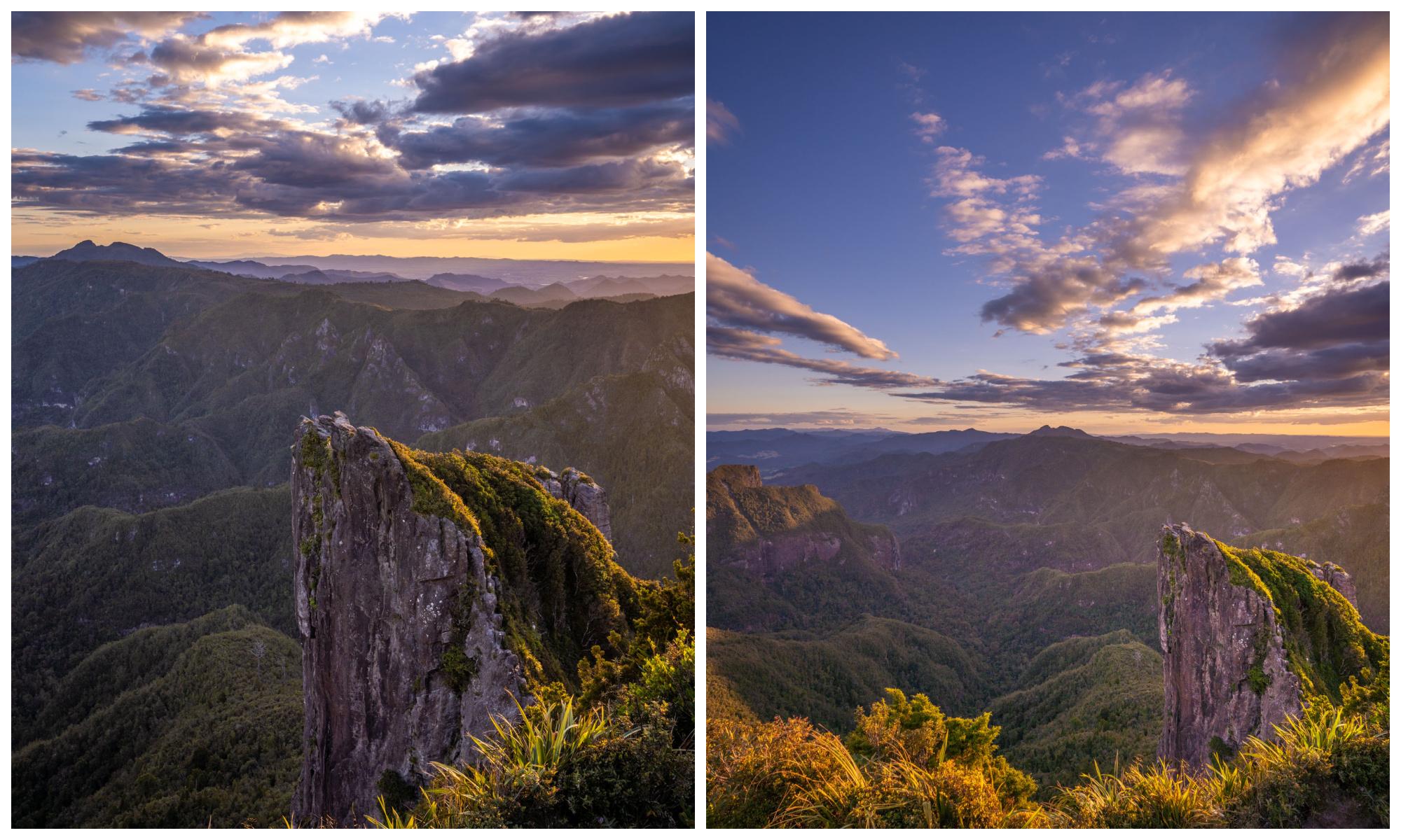Pinnacles Summit Sunset View