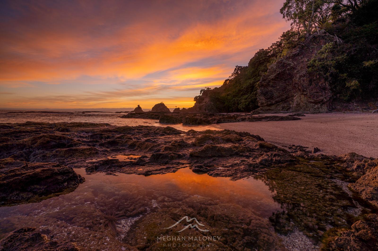 Otarawairere Sunrise in Ohope