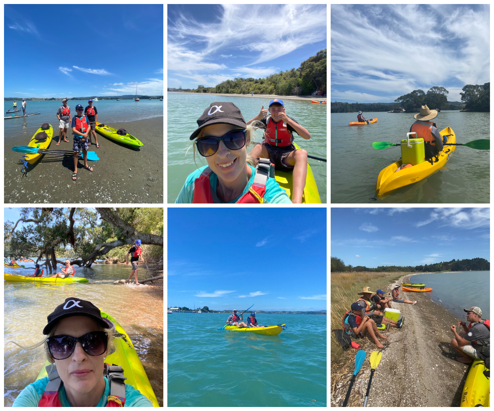 KG Kayak Tour Ohiwa Harbour Ohope