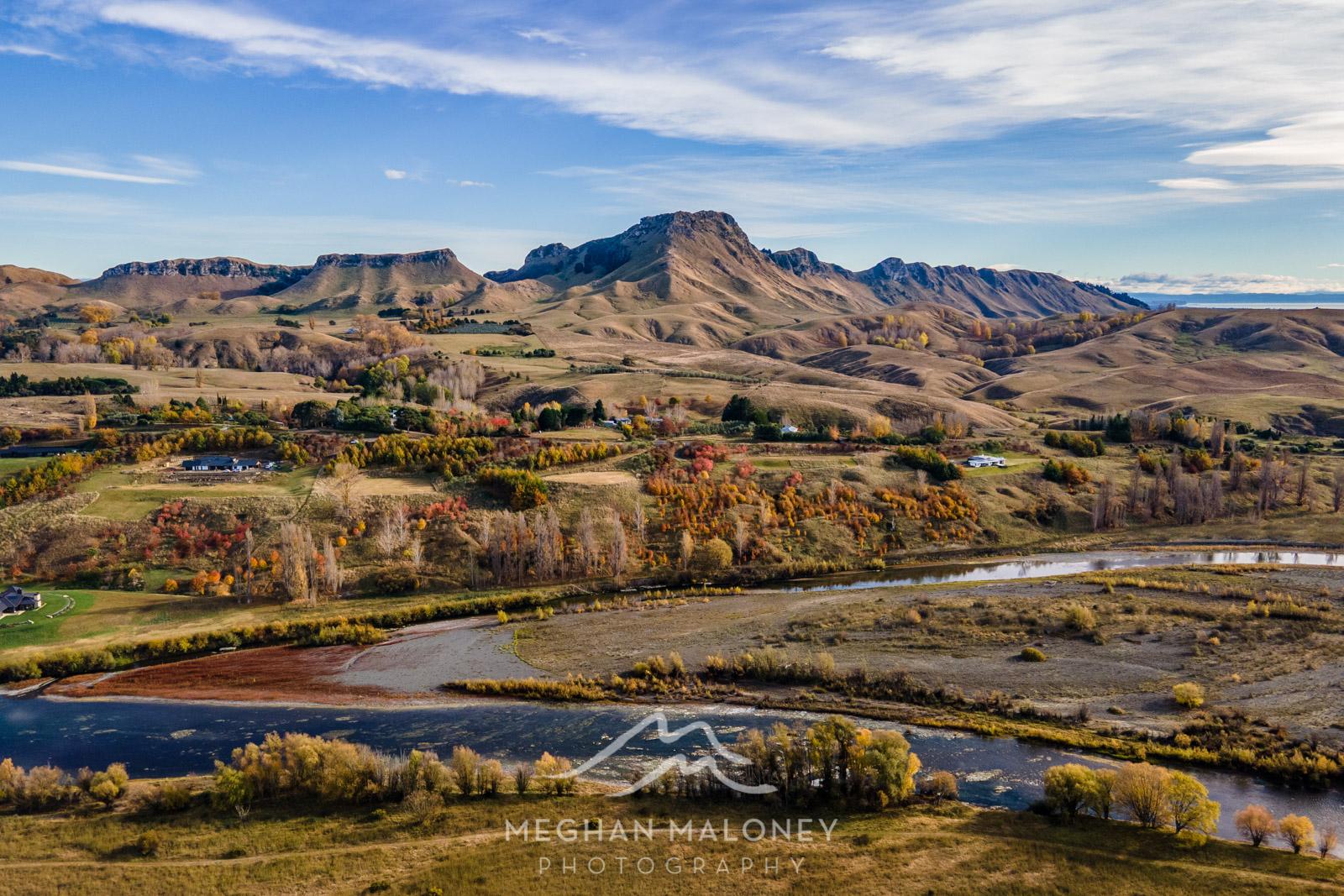 Tukituki Valley Autumn Hawkes Bay