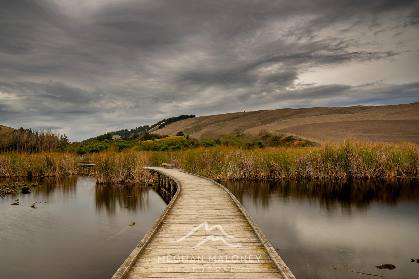 Pekapeka Wetlands Havelock North Autumn