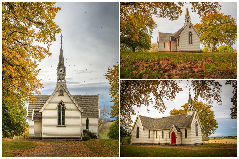 Pukekhou Church Autumn Hawkes Bay