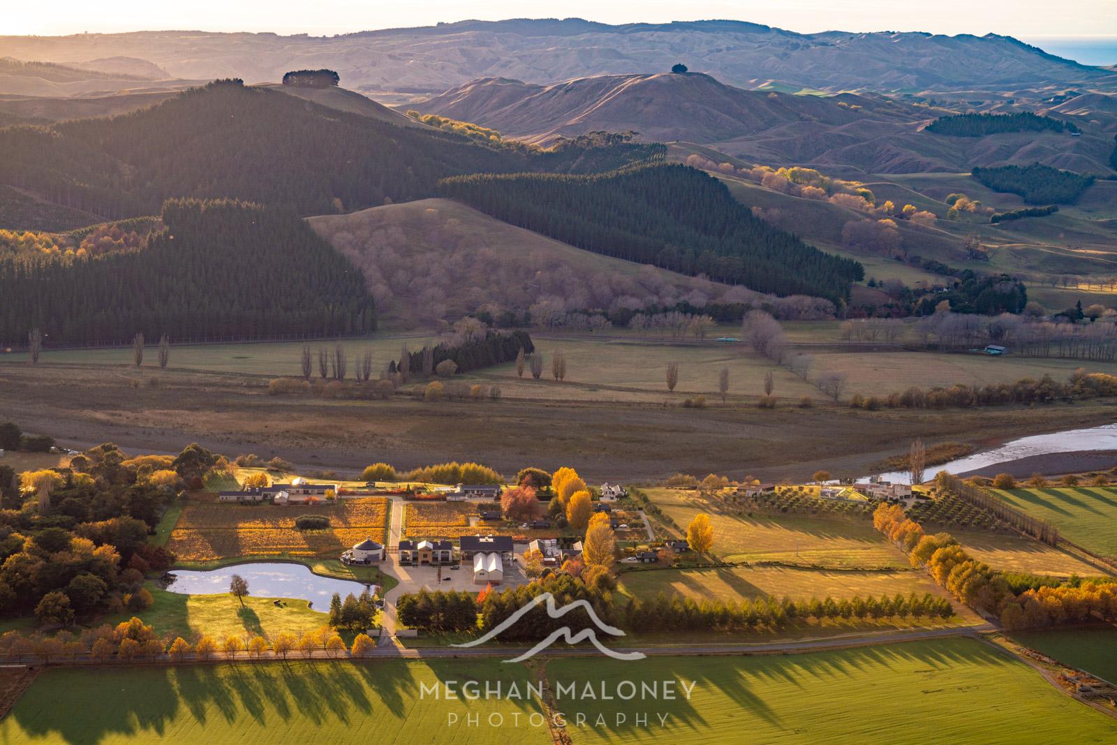 Autumn Colours Te Mata Peak Tukituki Valley