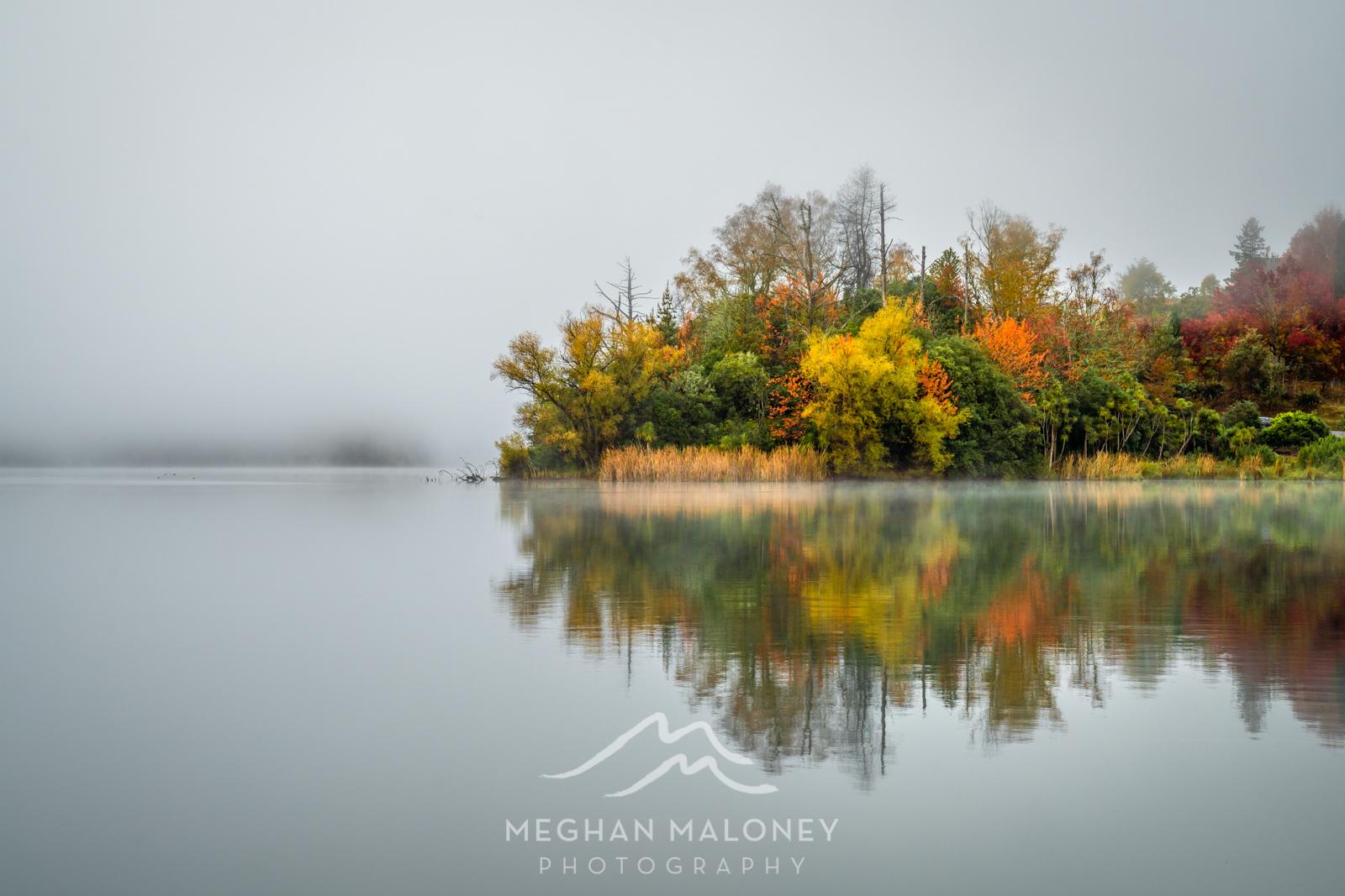 Autumn Fog Lake Hawkes Bay
