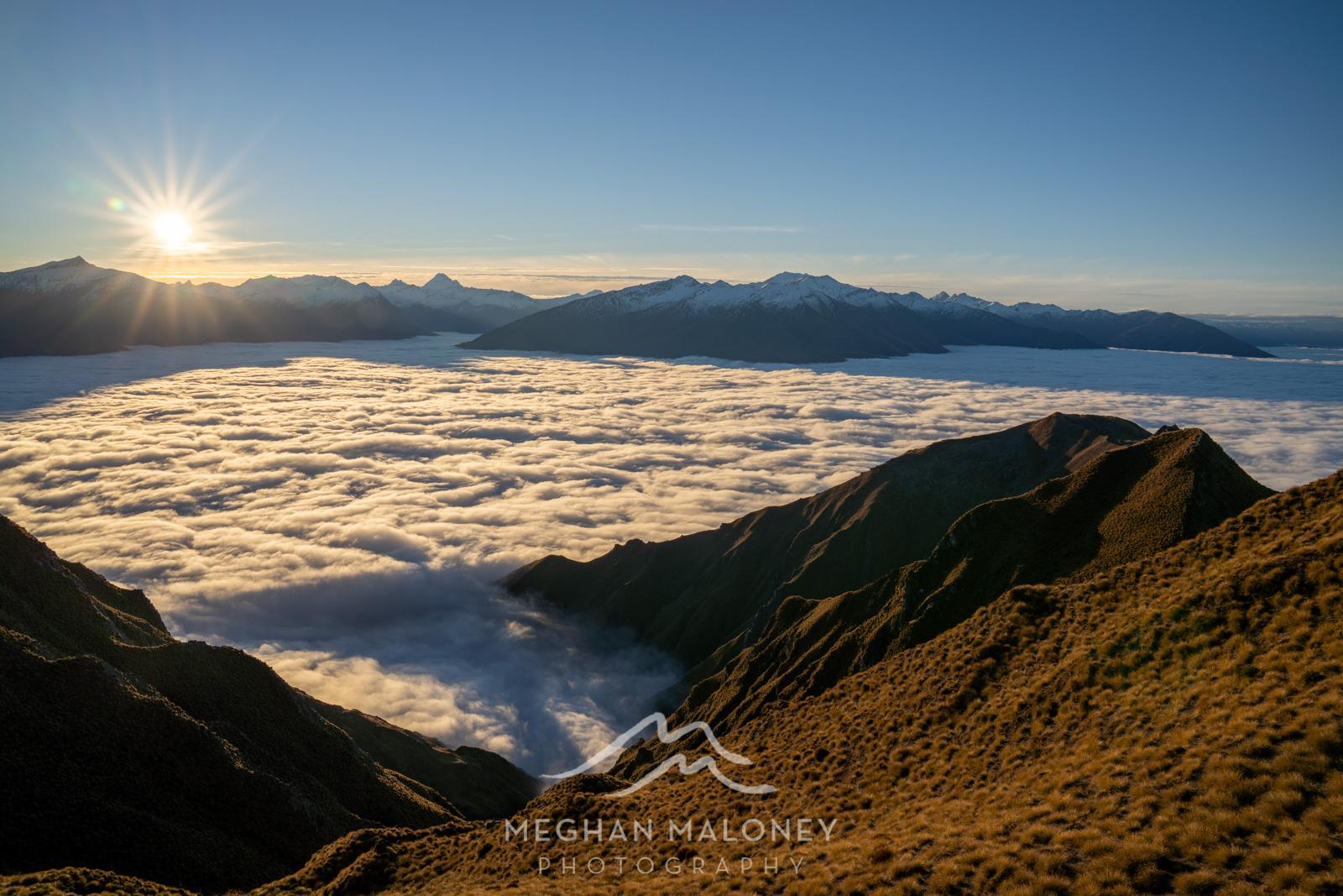 Roys Peak Wanaka Sunset