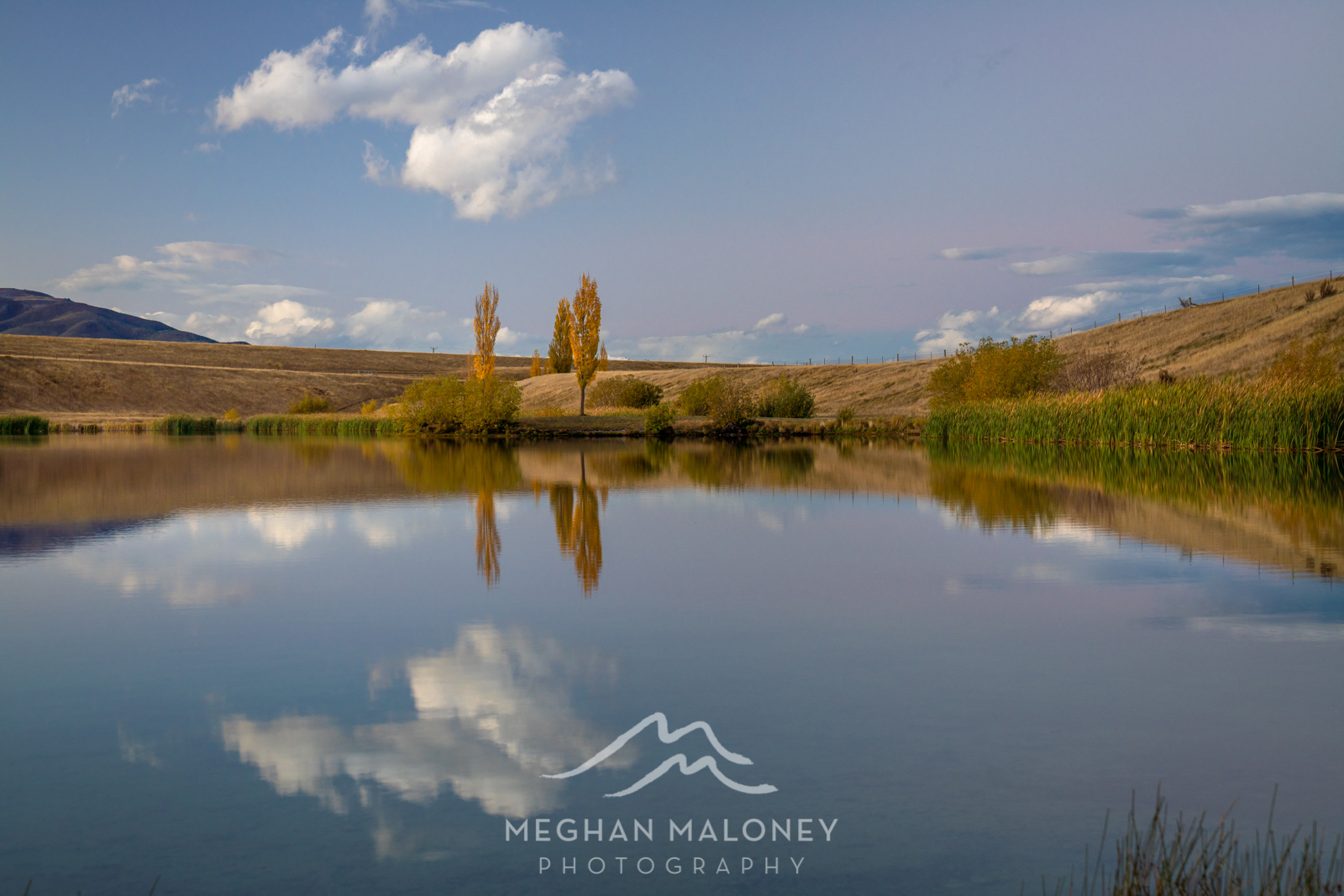 Loch Cameron Twizel Autumn