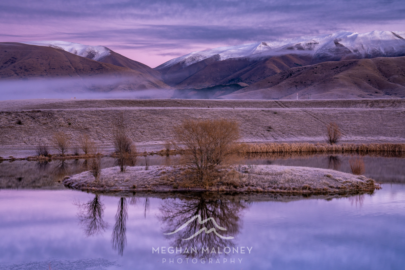 Loch Cameron Twizel Winter