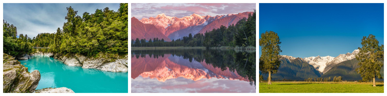 Hokitika Gorge Lake Matheson West Coast