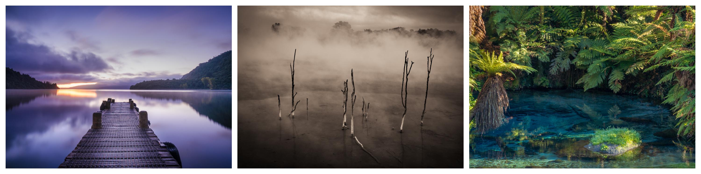 Lake Tarawera Kuirau Park Blue Spring