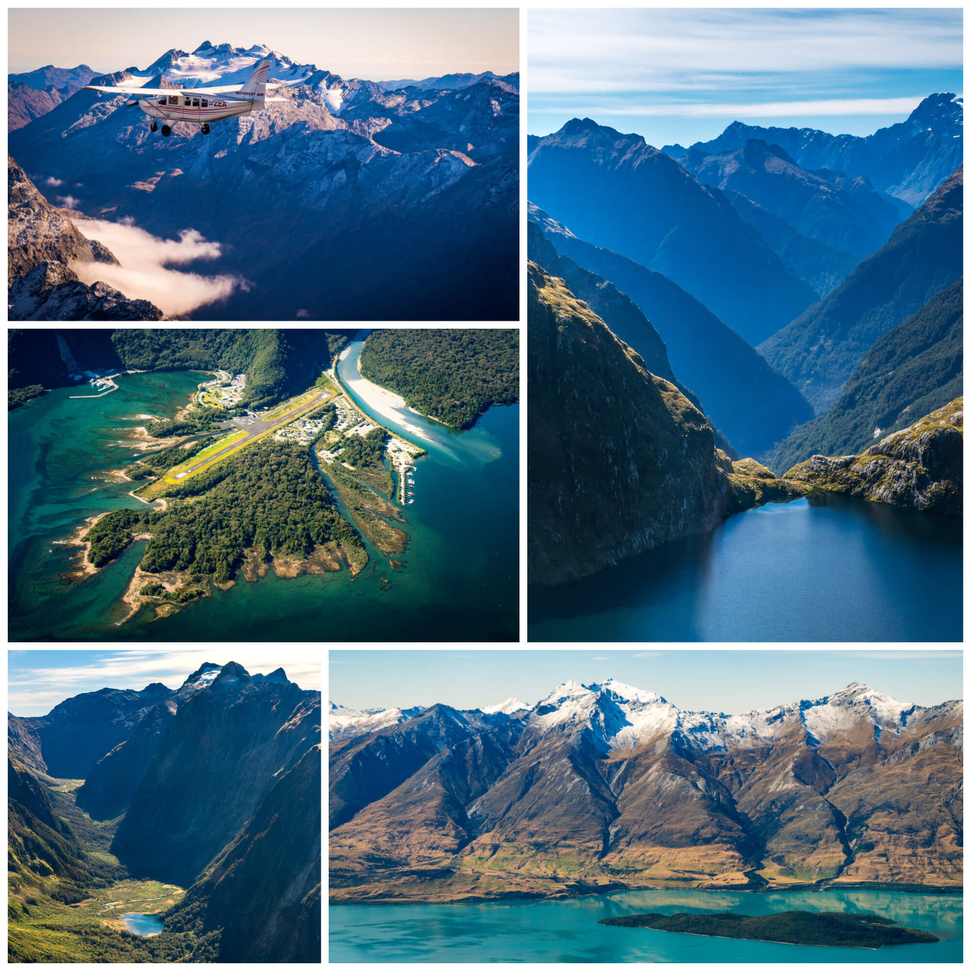 Glenorchy Air Fly Cruise Fly
