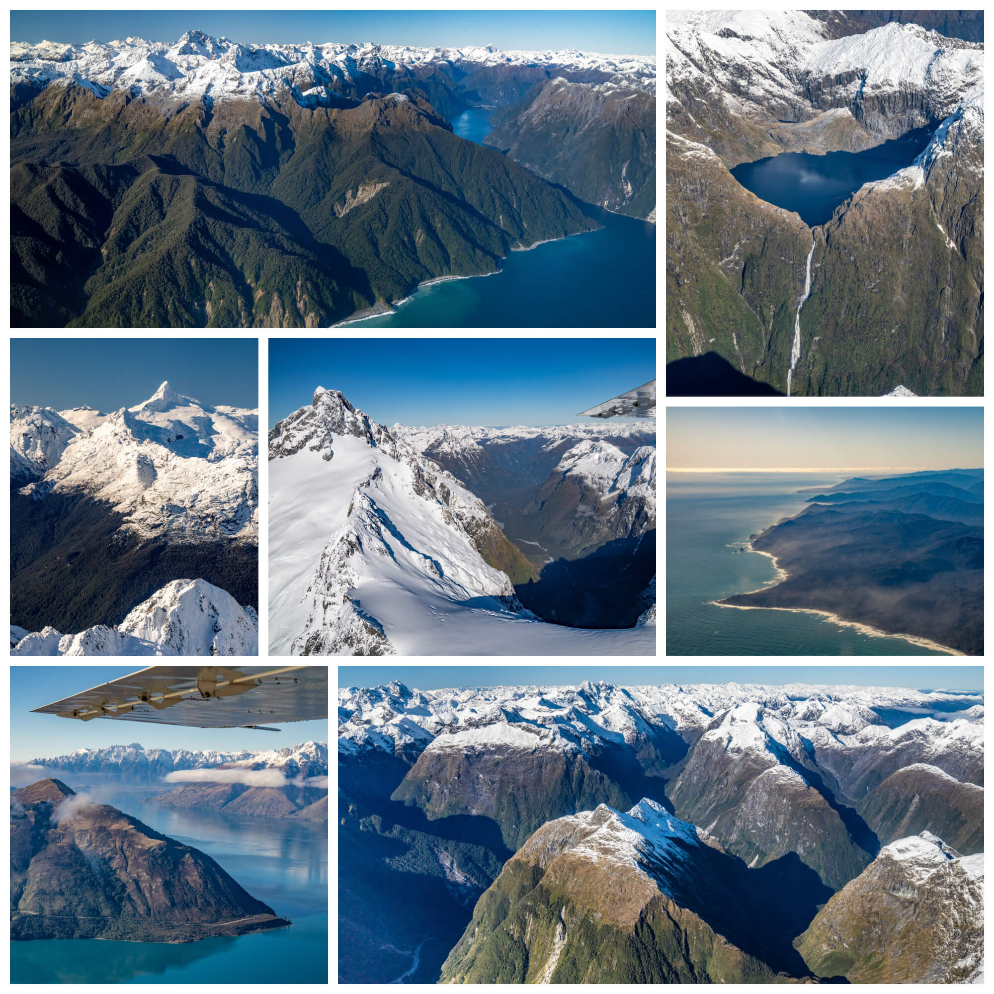 Glenorchy Air Milford Sound Flyover