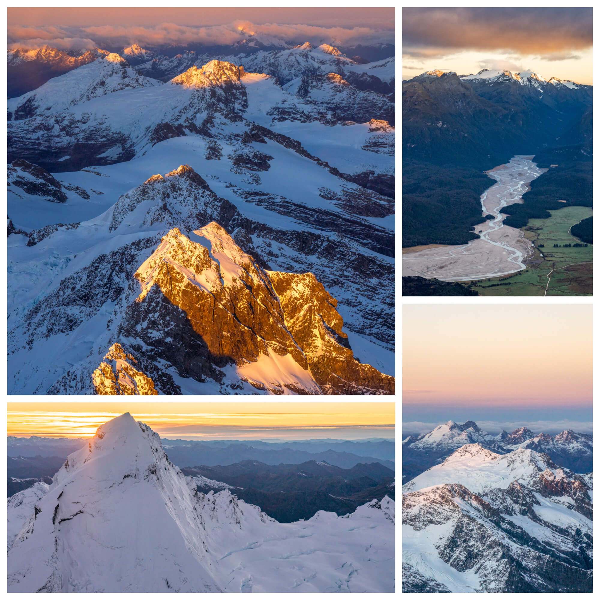 Glenorchy Air Mt Aspiring Sunrise Flight