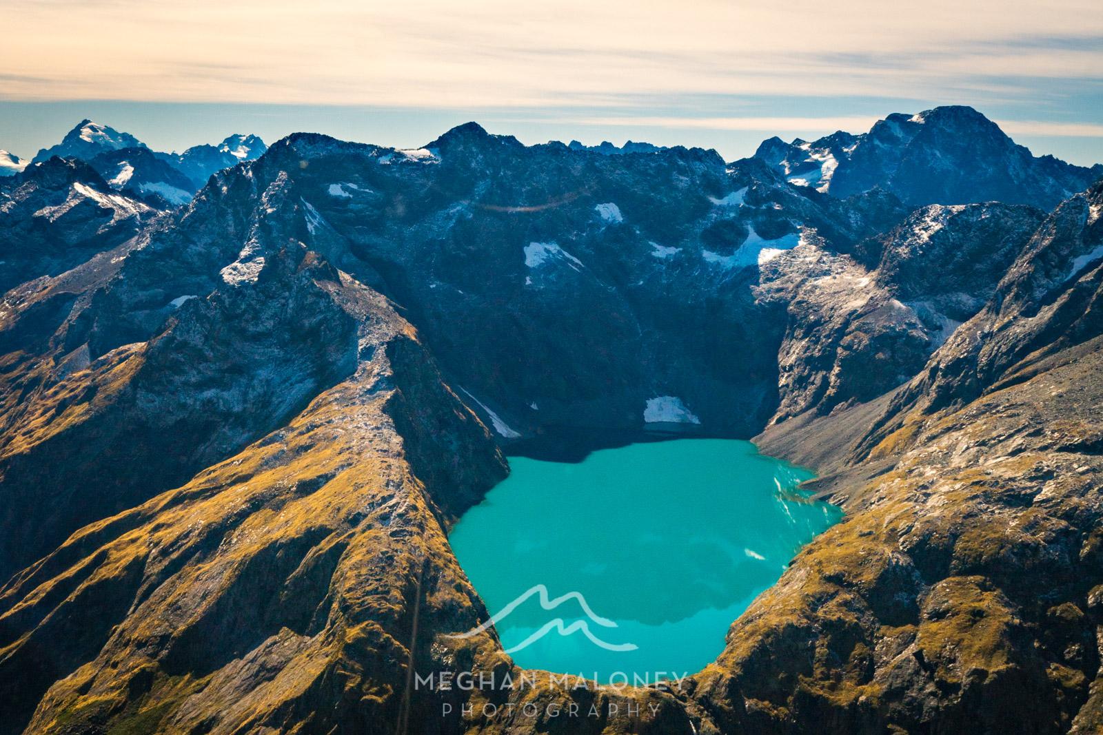 Glenorchy Air Milford Flight Alpine Lake
