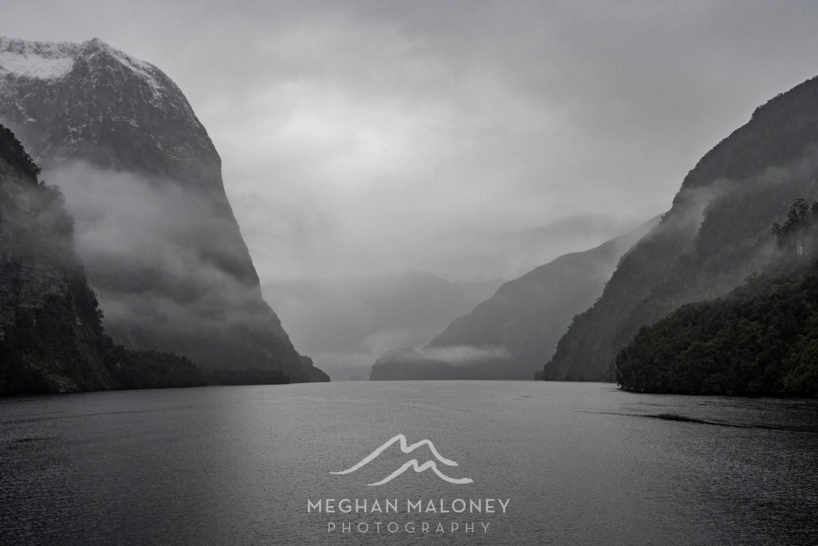 monochrome mist mood doubtful sound