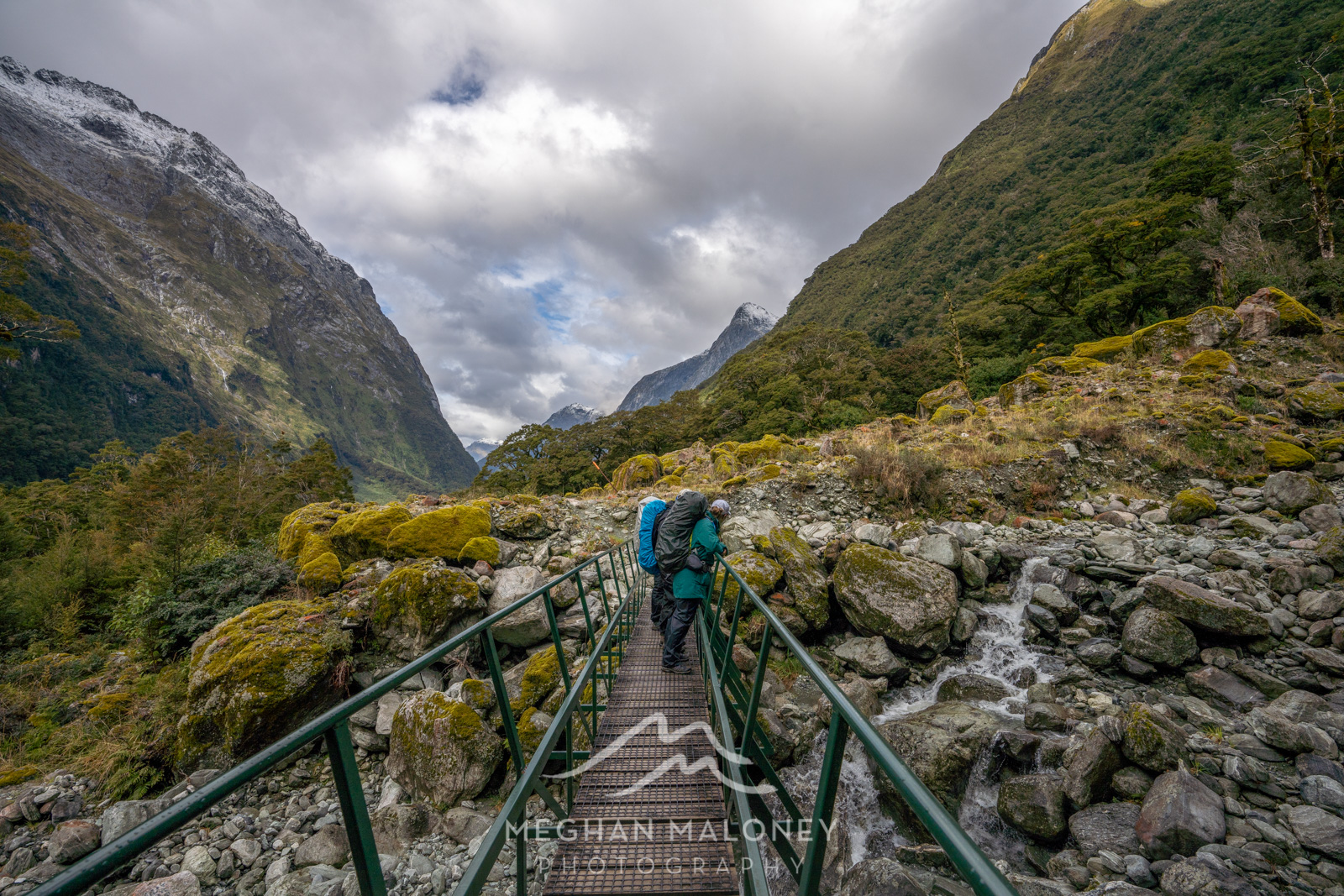 river crossing milford track