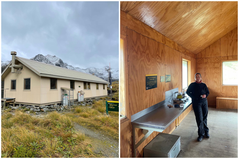 Mackinnon Pass Shelter Hut