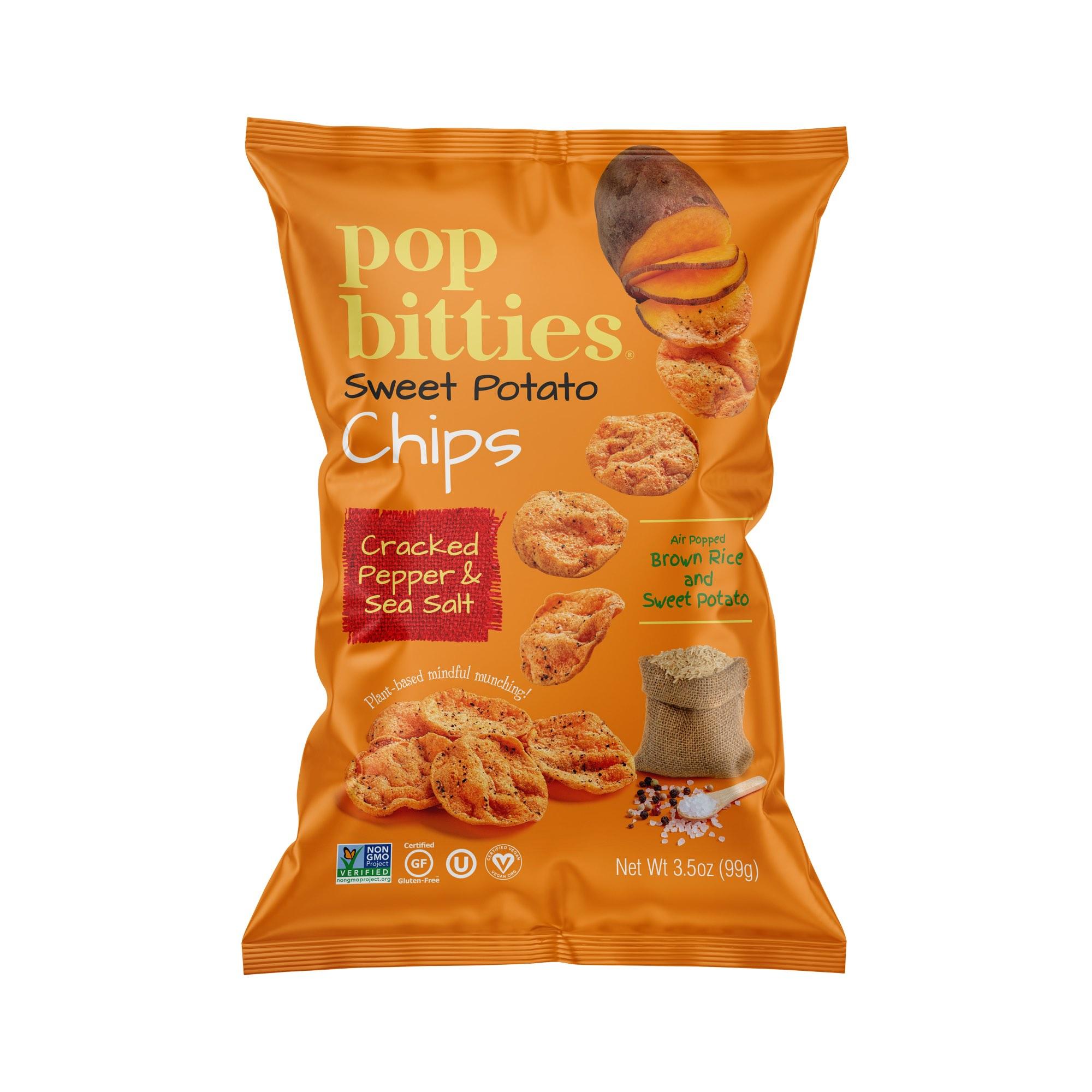 Pop Bitties Brown Sea Salt Bag