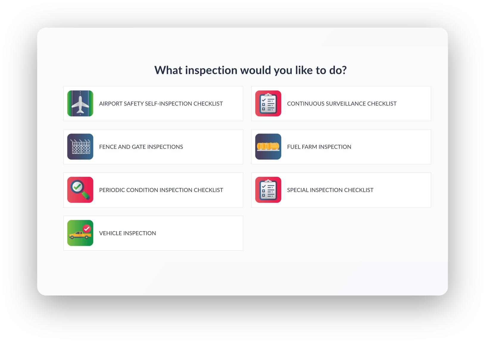 Airport Inspections Software