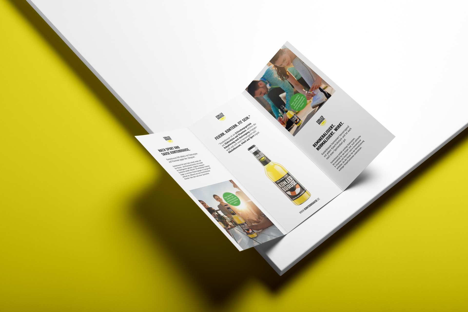 Konterbrause Printdesign