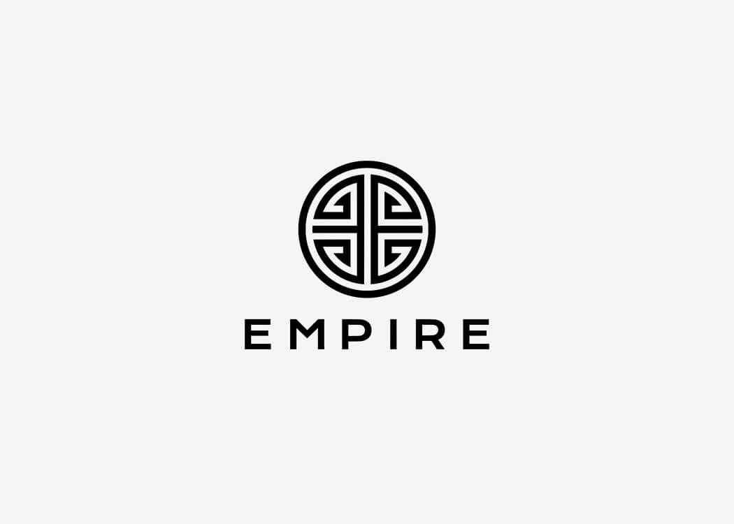 Empire Distribution Logo - James Cannella Marketing, Design, AI consulting