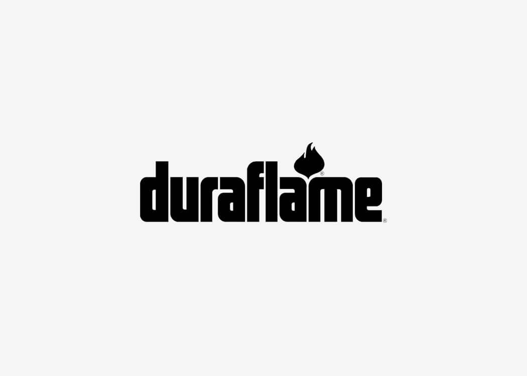 Duraflame Logo - James Cannella Marketing, Design, AI consulting