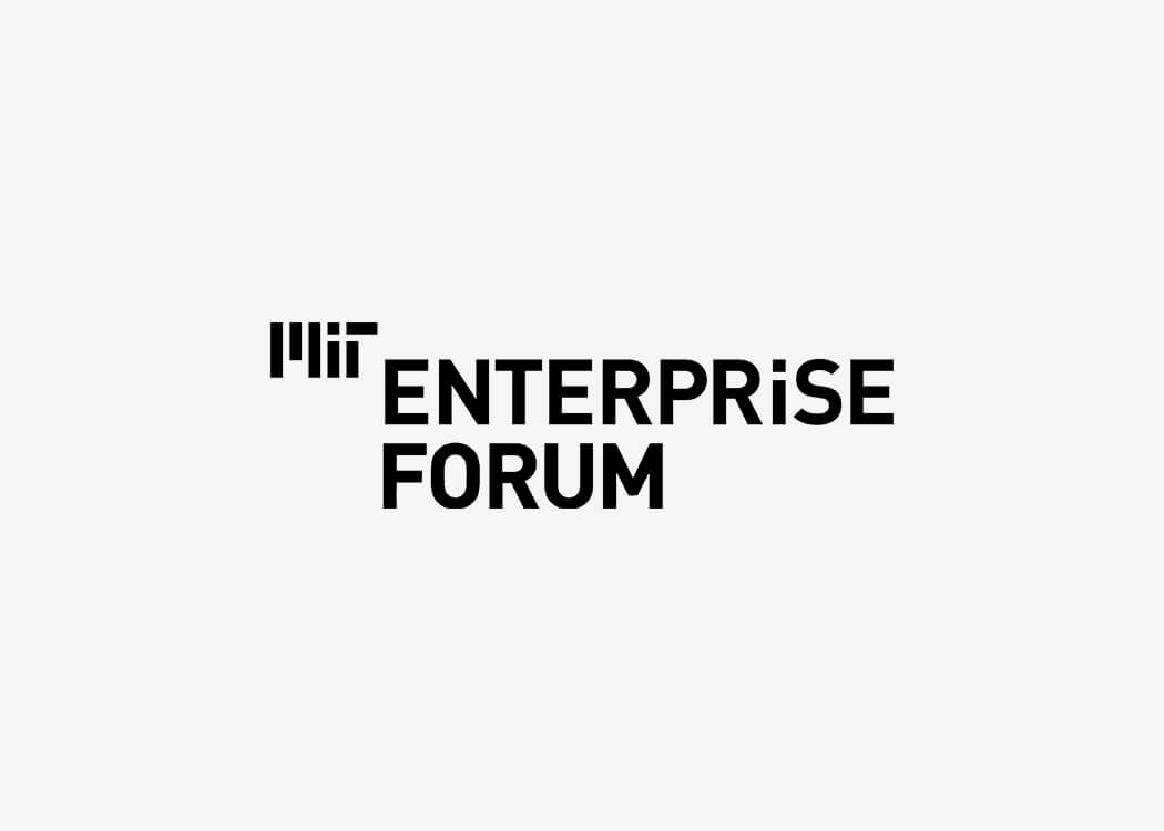 MIT Enterprise Forum Logo - James Cannella Marketing, Design, AI consulting