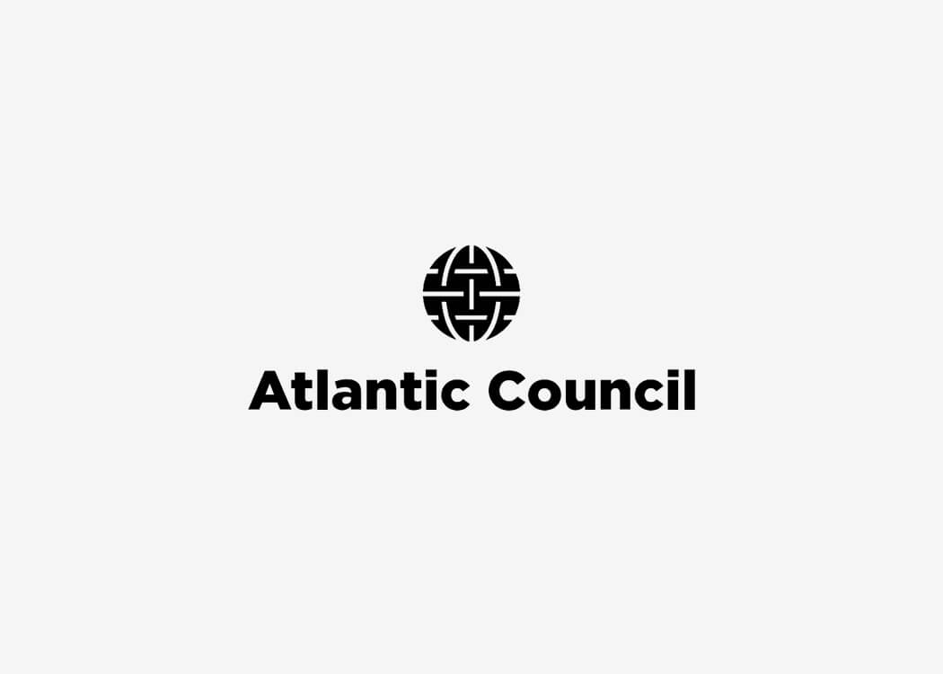 Atlantic Council Logo - James Cannella Marketing, Design, AI consulting
