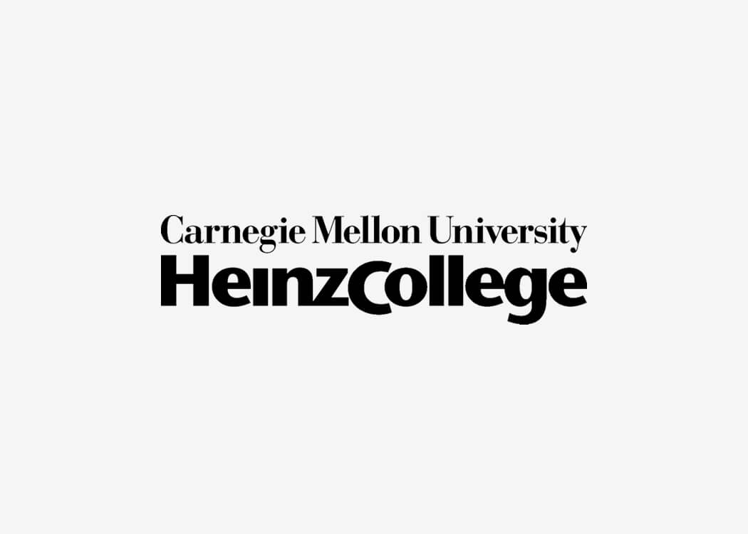 Carnegie Mellon Heinz College Logo - James Cannella Marketing, Design, AI consulting