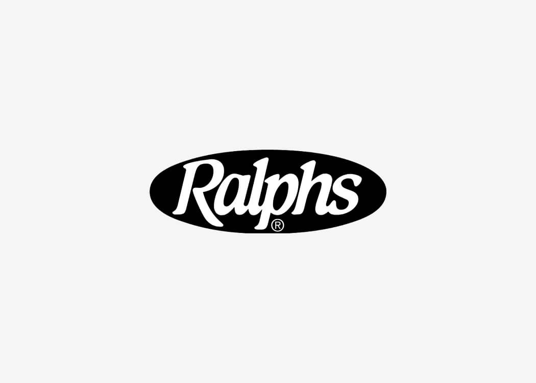 Ralph's Grocery Stores Logo - James Cannella Marketing, Design, AI consulting
