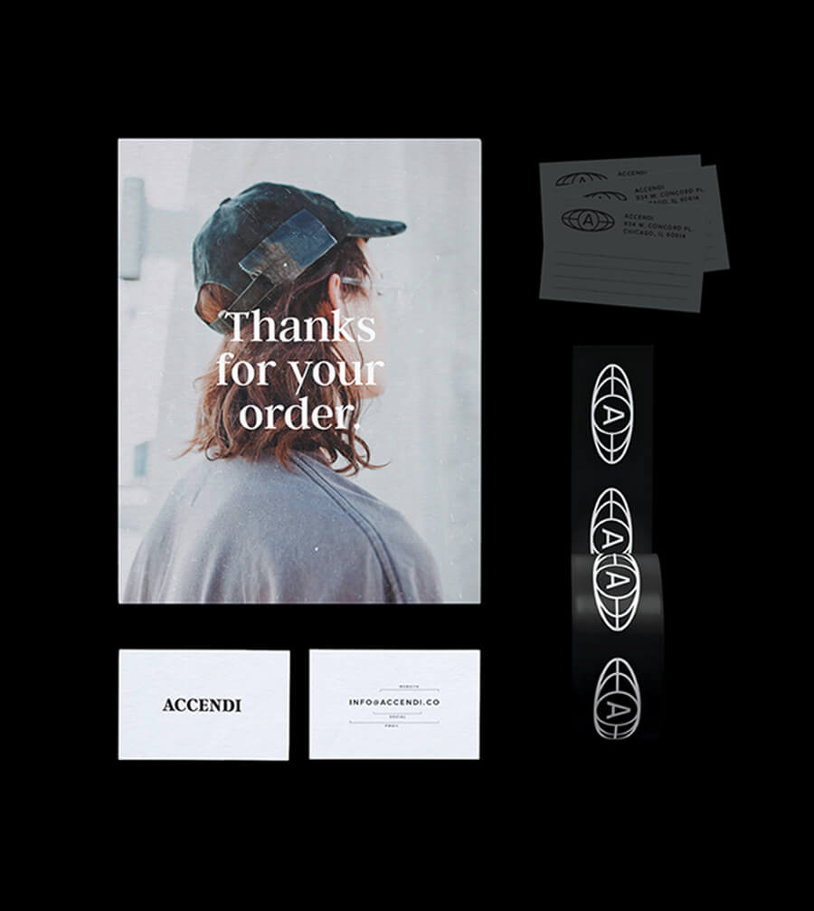 Accendi - Handmade Clothing Brand - James Cannella Portfolio