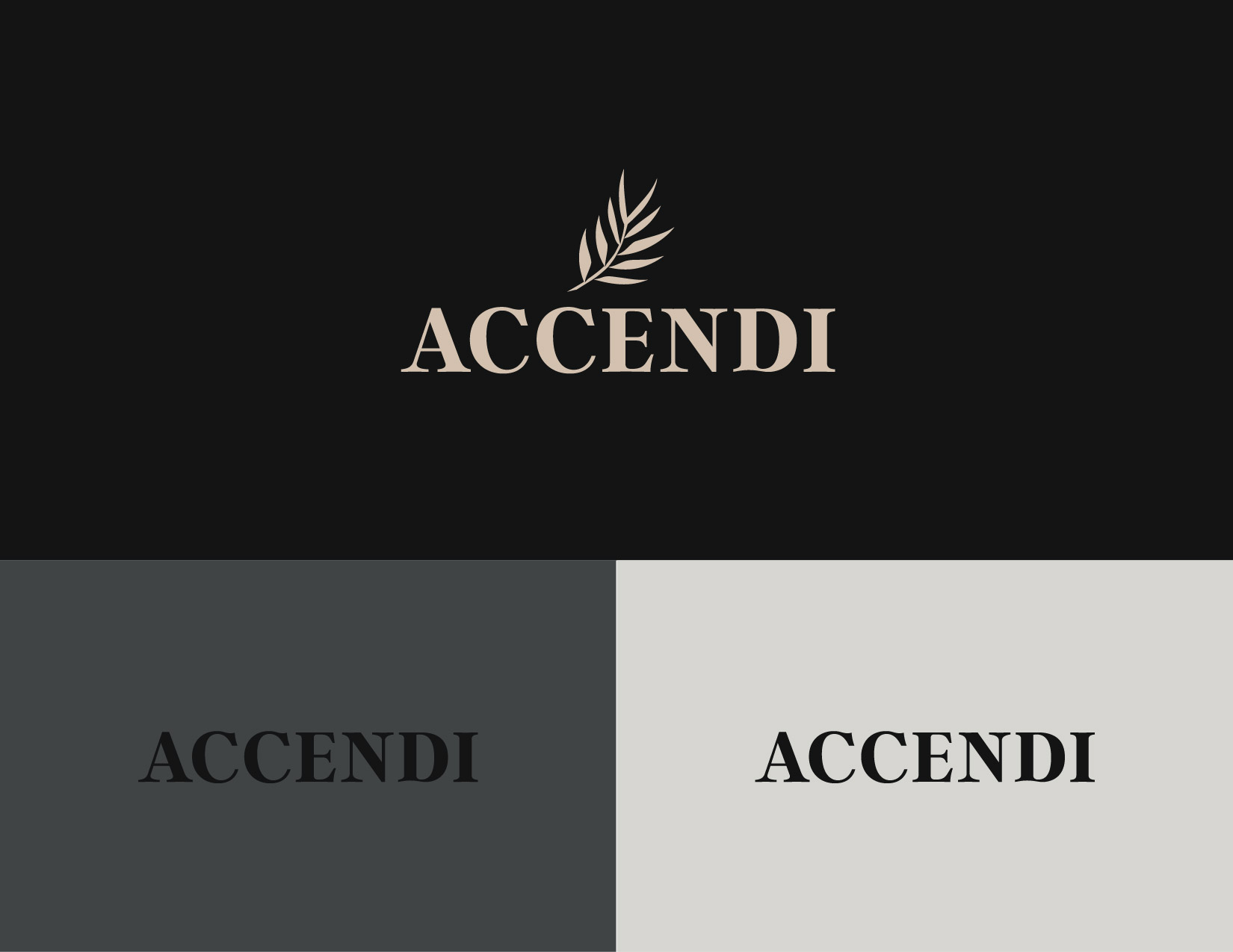 Logo design and branding for Accendi, a handmade clothing brand using hemp and organic materials based out of Chicago. James Cannella Marketing, Design, and Artificial Intelligence Consulting Services
