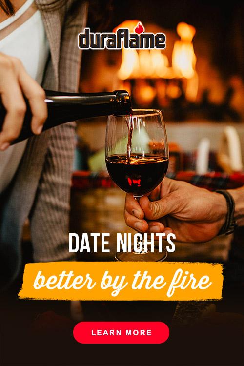 Duraflame Firelogs Pinterest Ad Design