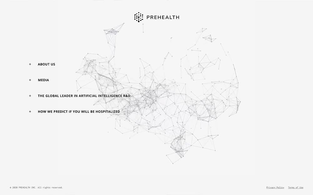 Website Design for Prehealth Artificial Intelligence Hospitalization Risk Prediction Using Lifestyle Data