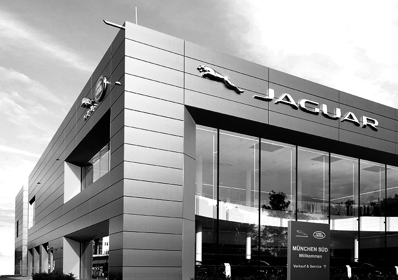 Ein Statement für die Marke Land Rover München Witte Projektmanagement