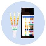 Urine test strips
