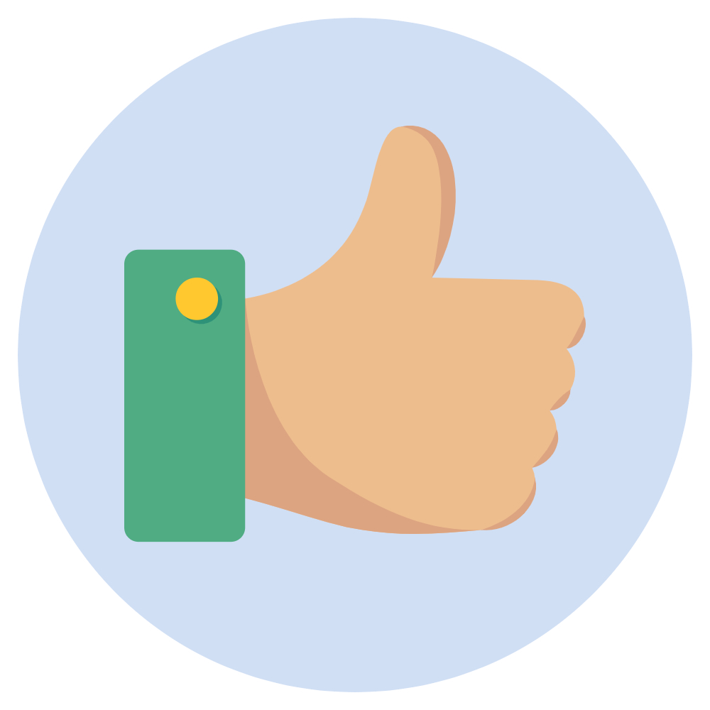 "Thumbs up ""Like"" image"